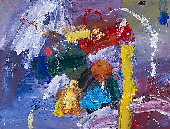 Singing Chimes by Murray Prichard Abstract Art, Australian Artist, Original Artwork & Fine Art Limited Edition Prints For Sal