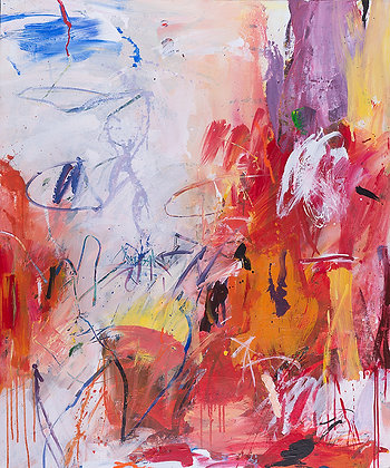 Firestorm by Murray Prichard Abstract Art, Australian Expressionism Artist, Fine Art Limited Edition Prints