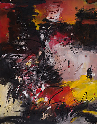 Upheaval by Murray Prichard Abstract Art, Australian Expressionism Artist, Fine Art Limited Edition Prints