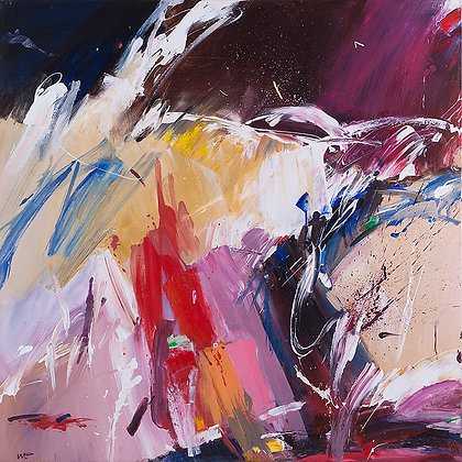 Impact by Murray Prichard Abstract Art, Australian Expressionism Artist, Fine Art Limited Edition Prints