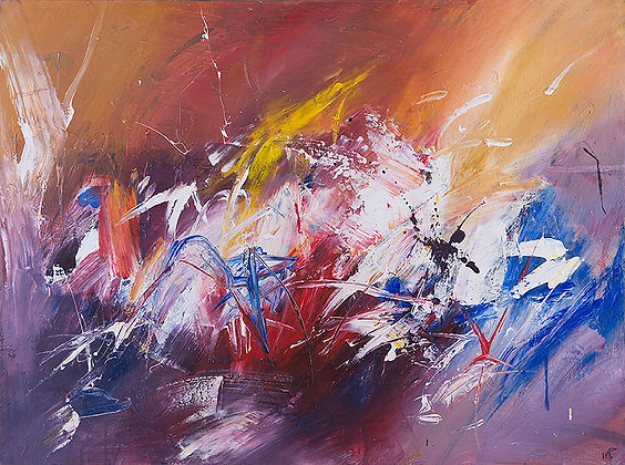 Angry Mother by Murray Prichard Abstract Art, Australian Expressionism, Fine Art Limited Edition Prints
