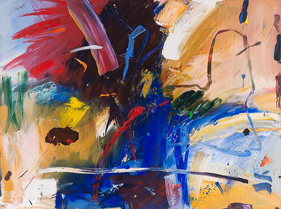 Brink by Murray Prichard Abstract Art, Australian Expressionism Artist, Fine Art Limited Edition Prints