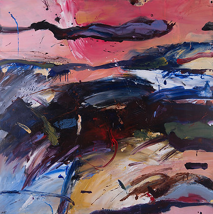 Genesis by Murray Prichard Abstract Art, Australian Expressionism Artist, Fine Art Limited Edition Prints