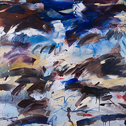 Storm God by Murray Prichard Abstract Art, Australian Expressionism Artist, Fine Art Limited Edition Prints
