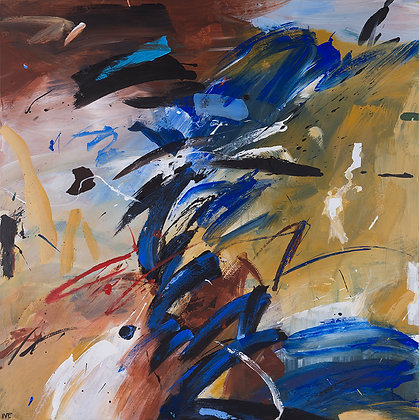Encounter by Murray Prichard Abstract Art, Australian Expressionism Artist, Fine Art Limited Edition Prints