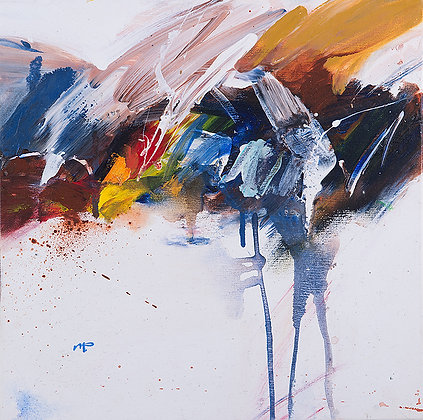 After The Rain by Murray Prichard Abstract Art, Australian Expressionism Artist, Fine Art Limited Edition Prints