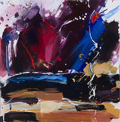 Strike by Murray Prichard Abstract Art, Australian Expressionism Artist, Fine Art Limited Edition Prints