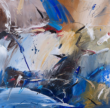 Violent Beauty by Murray Prichard Abstract Art, Australian Expressionism Artist, Fine Art Limited Edition Prints
