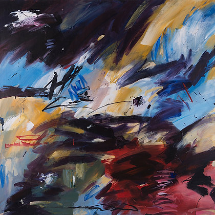 Origan by Murray Prichard Abstract Art, Australian Expressionism Artist, Fine Art Limited Edition Prints