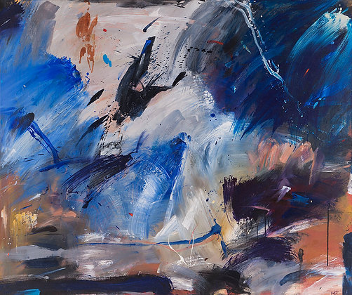 The Guardian by Murray Prichard Abstract Art, Australian Expressionism Artist, Fine Art Limited Edition Prints