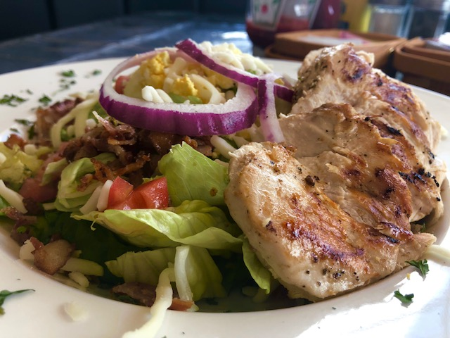 Grilled Chicken Salad
