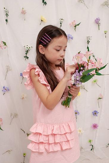 Tina Summer Dress in Pink