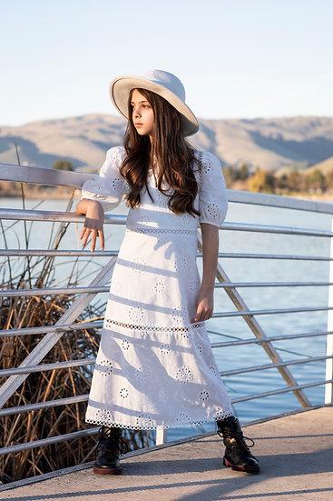 Iris Eyelet Dress