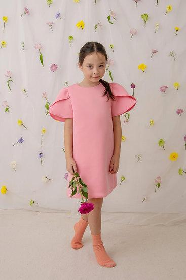 Tulip Dress in Pink