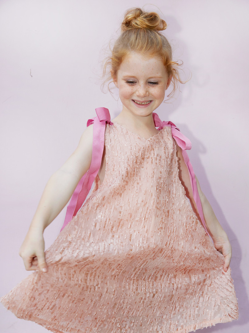 Scarlett Dress in Pink