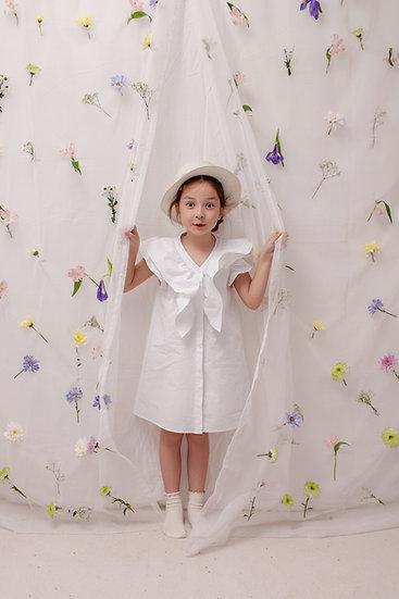 Caroline Dress in White