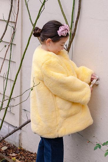 Candy Long Fur Jacket