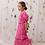 Thumbnail: Iris Eyelet Dress in Pink