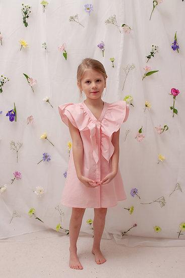 Caroline Dress in Pink