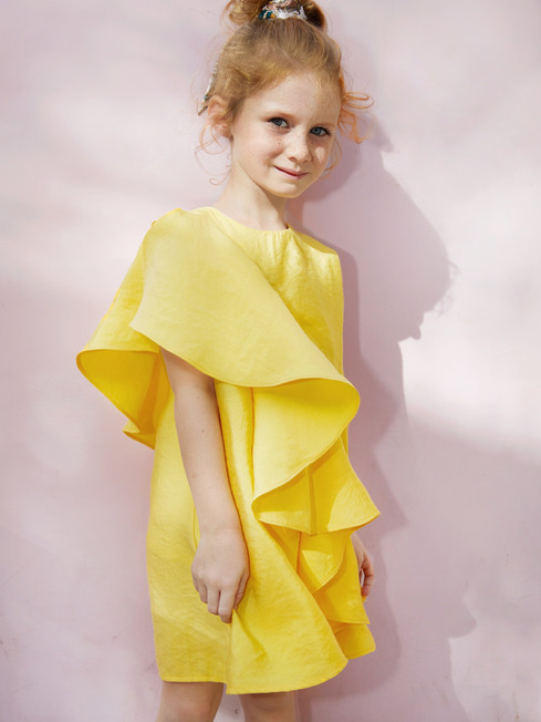 Daisy Dress in Yellow