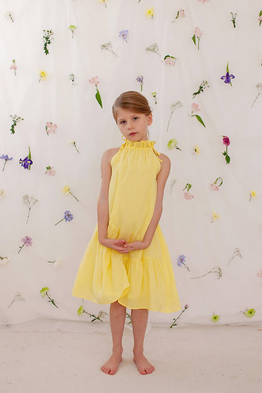Alice Dress in Yellow