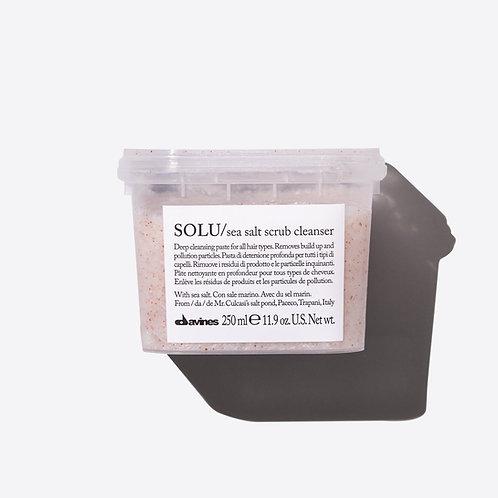 DAVINES Solu Clarifying Salt Scrub Cleanser 250ml