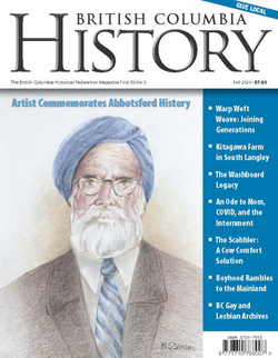 Read my latest Article in BC History Magazine