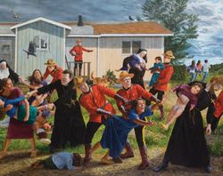 View and visit art works by Kent Monkman