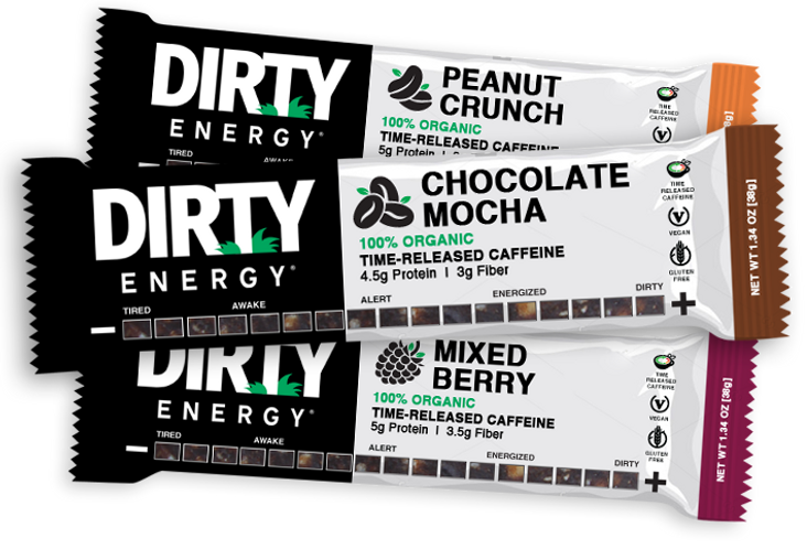 dirty energy bars