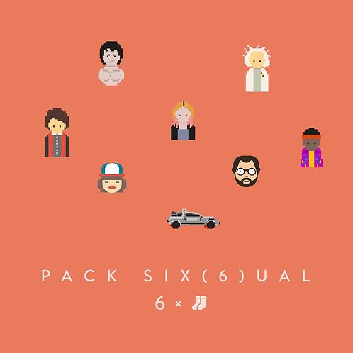 Pack Six(6)ual