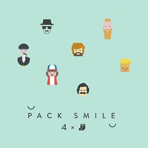 Pack Smile 4 Diseños