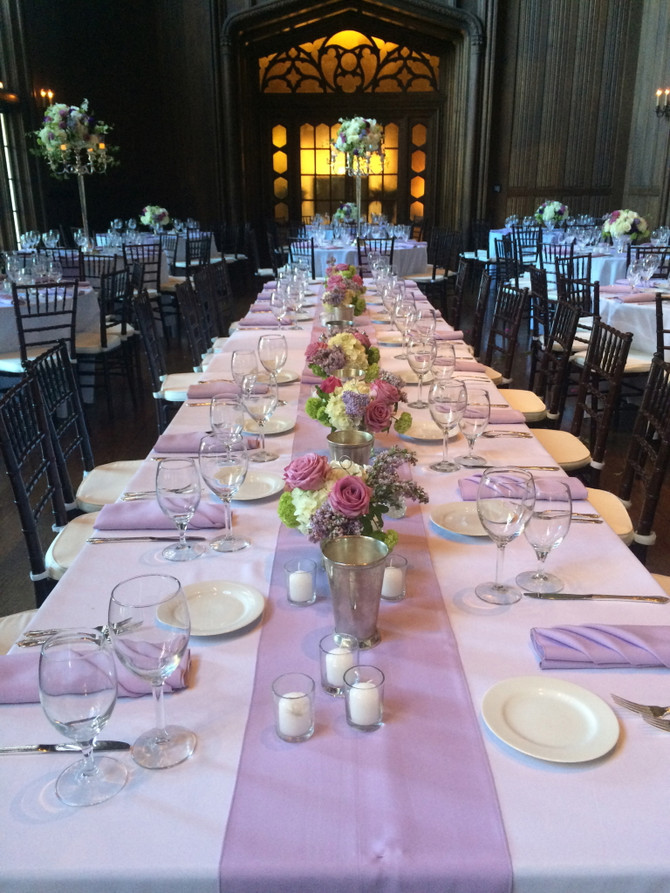 Lavendel bryllupsinspiration