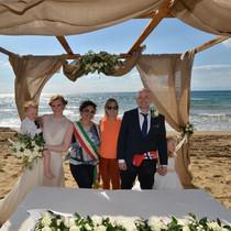Strandbryllup i sør Italia