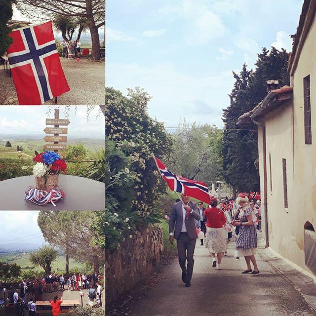 Norsk 17mai i Toscana