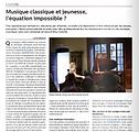 Article Spectrum Académie Musicale de Morges - été 2018