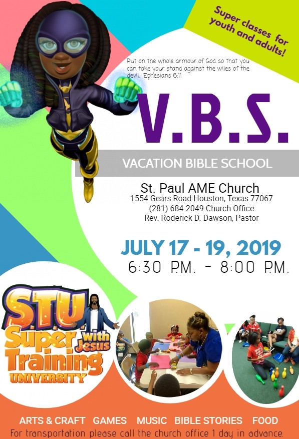 Vacation Bible School At St Paul