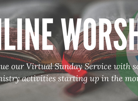 Sunday Worship Blog