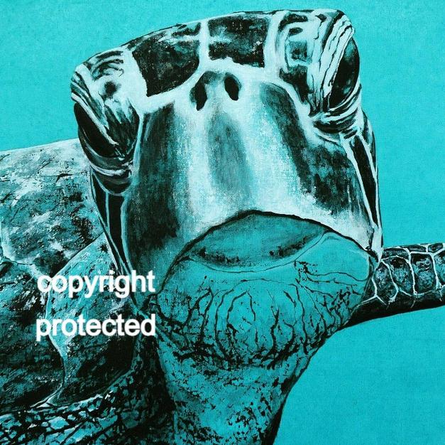 Truculent Turtle Print