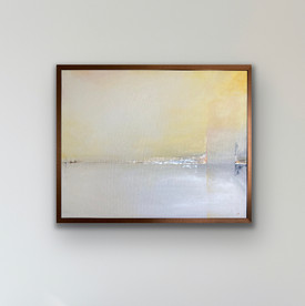 Distant Shore - available - 61 x 76 cm (framed)