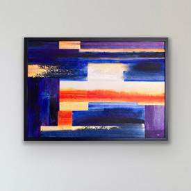 Certainty - available - 60 x 84 cm (framed)