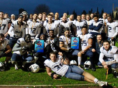 Seniors Elite : les Blue Stars conservent leur titre de Champions PACA !