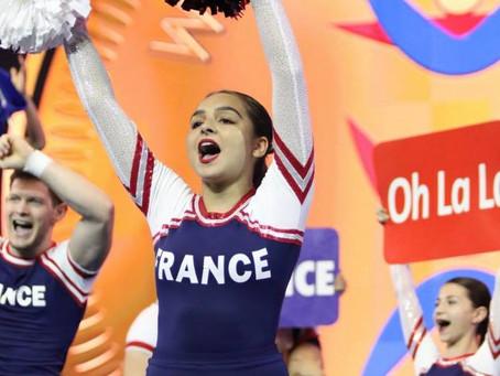 Le Cheerleading à l'honneur avec Léa Cohen en Équipe de France aux Championnat du Monde d'Or