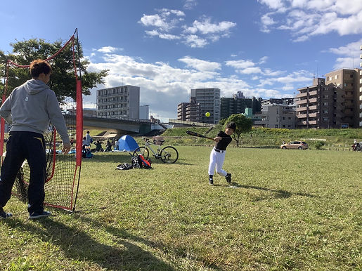 個別レッスン 川崎市 Baseball Creator