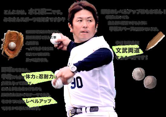 水口栄二の野球教室 野球心
