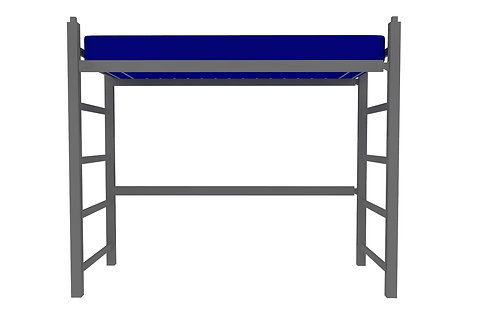 Jr. Loft Height Steel Bed
