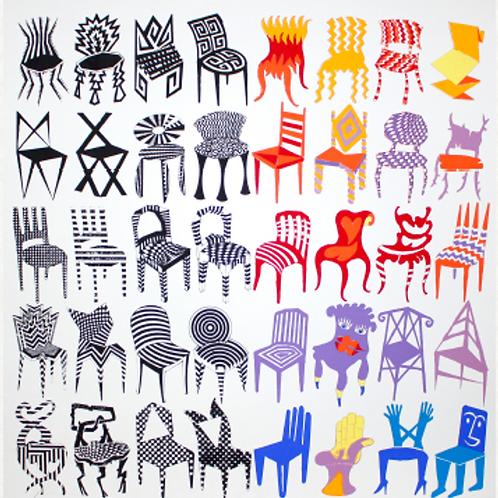 Colección de sillas