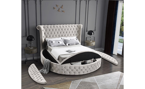 Liz Luxury Round Bed