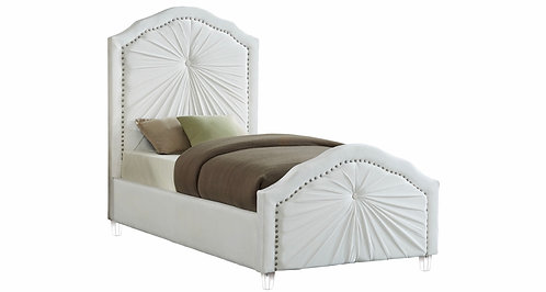 Twin velvet beds