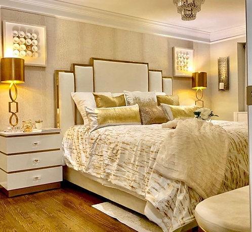 Velvet Beds Available queen, king,