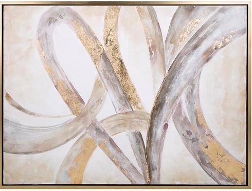 Framed Oil Painting.